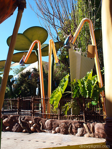 a bug's life: disney's california adventure