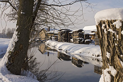 Winter 2010 im Steinachtal (Heidi Dressendoerfer) Tags: schnee winter bach