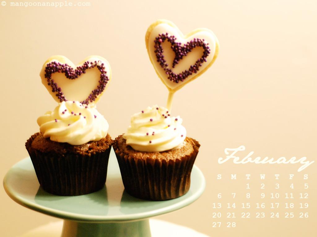 february cupcakes wallpaper - photo #4