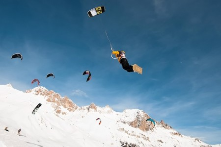 Snowkitingové závody - Češi mají co říct