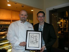Chef Daniel Moody and artist Christopher M (Exclusive Collections Gallery) Tags: relate christopherm popuprestaurant danmoody relationchef ecgallery exclusivecollections relaterestaurant