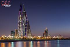 Bahrain World Trade Center ( Saleh AlRashaid / www.Salehphotography.net) Tags: world canon photo bahrain gulf outdoor mark middleeast center arab ii 5d kuwait trade gcc kuwaiti manama q8 saleh  kuwaity         stateofkuwait  leefilters  alrashaid salehalrashaid salehphotographynet
