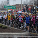 Runners got a good look at Raleigh's revitalized Hillsborough Street during the Krispy Kreme Challenge.