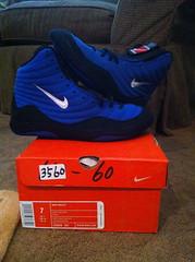 BNIB OG Reissues (NJWRASTLER (SEND ALL OFFERS TO NJWRESTLER29)) Tags: new old blue original comfortable vintage shoe 5 wrestling 7 8 9 nike retro size og rare reissue inflict bnib