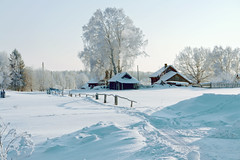 (dSavin) Tags: winter village russia  2011