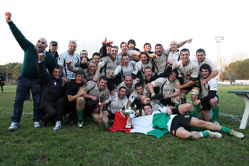 Rugby Roma in trionfo - foto FAMA