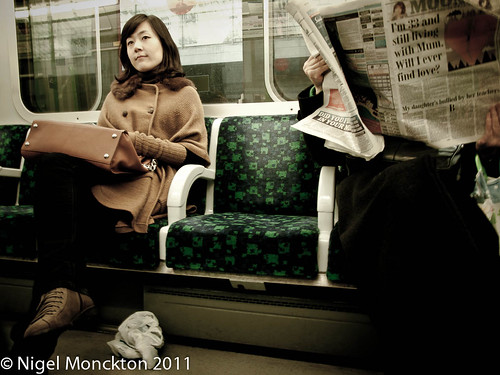 On the underground by nmonckton
