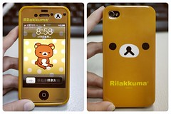 My iPhone () Tags: panasonic iphone rilakkuma sanx  relaxbear gf1   iphone4 dmcgf1 lumixg2017