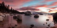 Bonsai Rock, Lake Tahoe, NV (Matt Hofman) Tags: sunset lake tahoe laketahoe bonsairock
