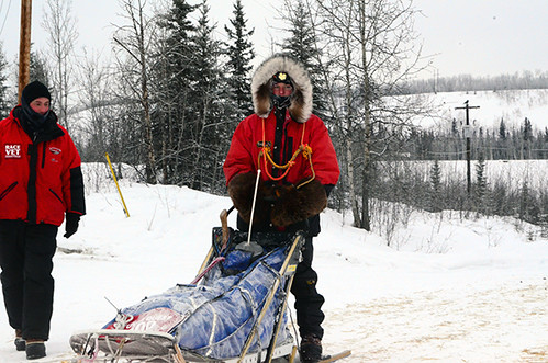 YQ300 mushers finish in Pelly Crossing