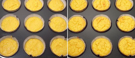 Flourless orange cupcakes - Batter