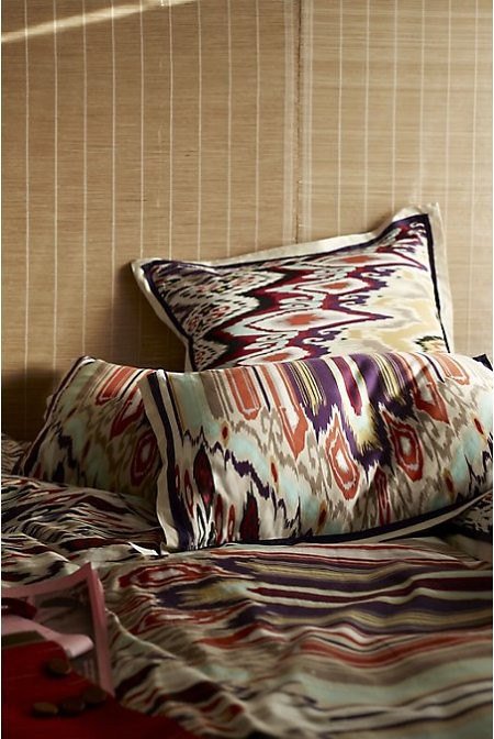 Dynamic Ikat Duvet/Anthropologie