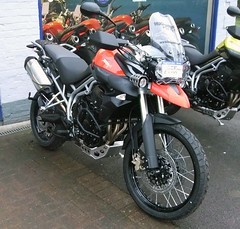 New for 2011 Triumph Tiger 800XC