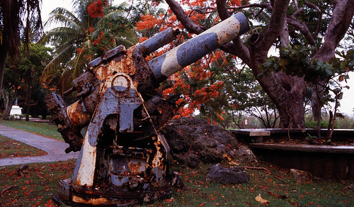 Cannon of Japan Army
