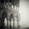 Fog on Piazzetta San Marco - Venice (MaggyMorrissey) Tags: venice italy fog dawn piazzasanmarco stmarkssquare