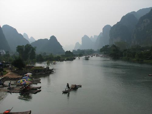 Yangshuo - Excursión por el rio