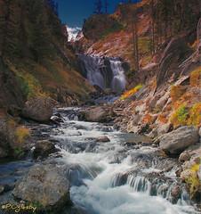 Mystic Falls (P. Oglesby) Tags: autumn waterfalls yellowstonenationalpark thehighlander godlovesyou coth supershot absolutelystunningscapes dragondaggerphoto mygearandme mygearandmepremium