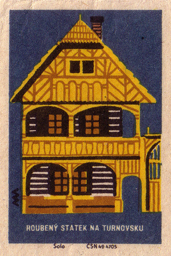 Timbered Farmhouse in the Turnov
