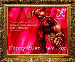 Happy Valentine's (.WATTS.) Tags: love day 14 company card valentines hook february porter juggernaut juggs