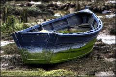 Rowboat (Clayton Perry Photoworks) Tags: old boat moss richmond hdr steveston britannia britanniashipyard