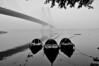 "Forms = ""Triangles"" (samujjwalsahu) Tags: india boats bridges rivers kolkata bengal ganga 2ndhooglybridge"