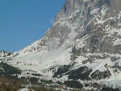 wetterhorn avalanche #2  2011.2.14 (mailatmatt) Tags: alps schweiz switzerland suisse suiza swiss alpen avalanche berneroberland berneseoberland suissa avalancha kantonbern oberlandbernois lawinen p1140066 gutzgletscher gutzglacier