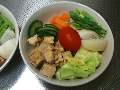 朝食サラダ(2011/2/18)