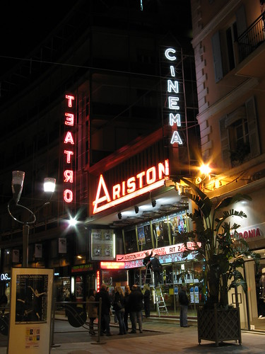 Sanremo il cinema teatro Ariston