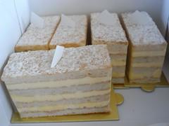エシレバターのケーキ