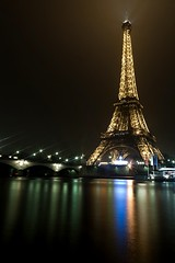 eiffel tower by night 1 (jeremy.sallee) Tags: paris tower night long exposure eiffel