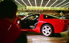Corvette C6 (dharder9475) Tags: film 35mm unitedstates michigan detroit 1997 corvette c6 naias detroitautoshow northamericaninternationalautoshow 4star ricohxrm privpublic