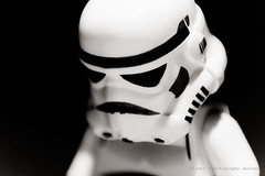 50/365 close-up (photography.andreas) Tags: portrait macro canon germany deutschland photography blackwhite starwars lego stormtrooper minifig emotions saarland project365 eos40d canoneos40d canonefs1855mmf3556is urweiler