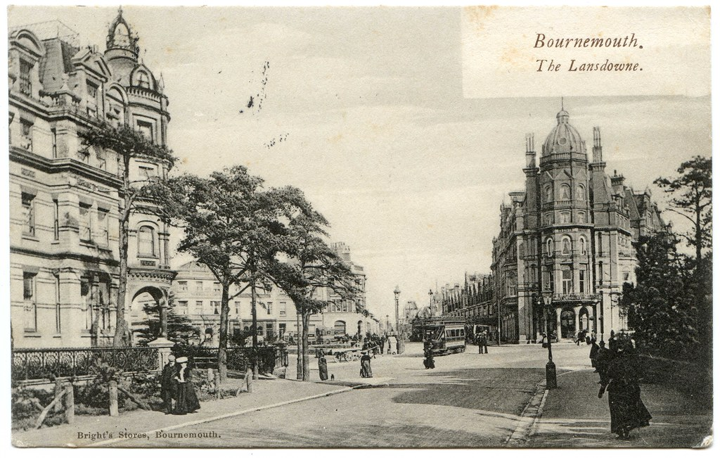 The Queen Hotel, and the Metropole Hotel, Bournemouth