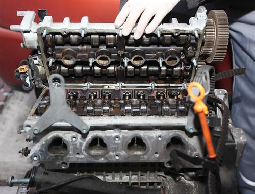 volkswagen engine lupo cylinderhead 1416v
