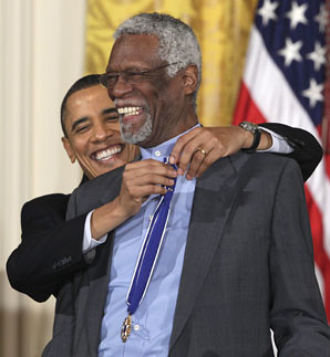 Bill Russell Medal of Freedom