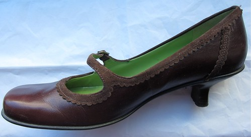 Ebayed: Brown Mary Janes with Suede Detailing, Kenneth Cole Reaction