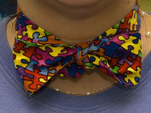 autism bow tie