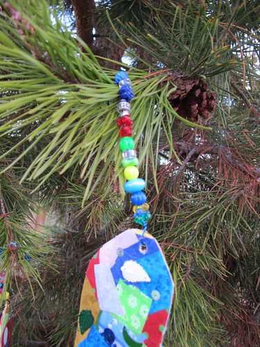 Our collage ornaments #7