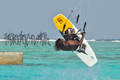 """ Define Gravity ? "" (rushh [ surf photography ]) Tags: jump nikon extreme kiteboarding bale maldives slingshot 70300 naish colorsoflife dhiffushi d5000 rushh slingshotfuel airushh definegravity norhthmaleatoll kitestunt"