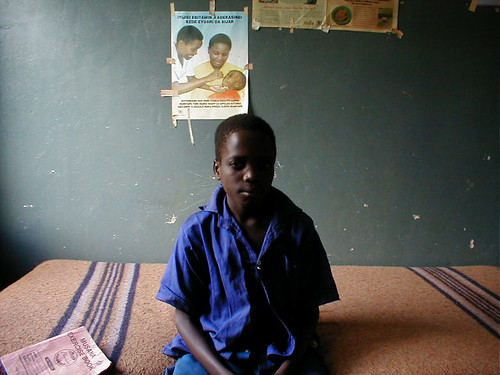 A sleeping sickness patient in Soroti, Uganda