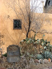 OLD TOWN CHURCH YARD CACTUS GARDEN (Visual Images1 (Thanks for over 5 million views)) Tags: newmexico 6ws picnik