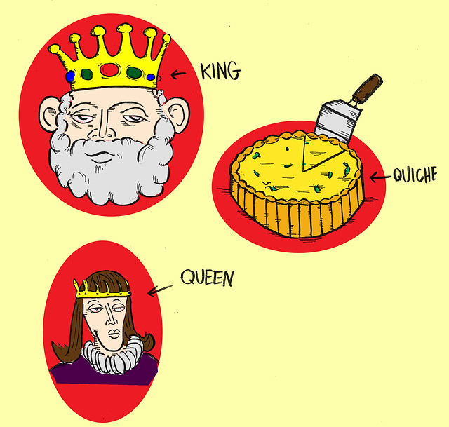 King, Queen, Quiche