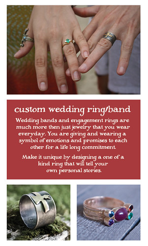 custom wedding ring/band