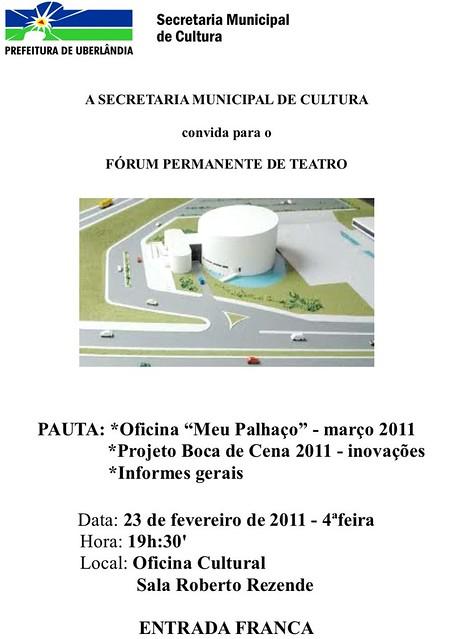 forum de teatro