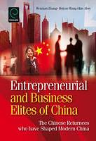 Wenxian Zhang and Ilan Alon Completed a New Manuscript on Chinese Returnee Entrepreneurs