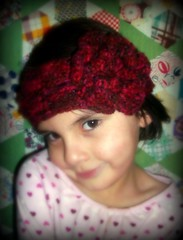 children's crochet headband/earwarmer (backporchmoon) Tags: crochet headband earwarmer childrenspicnikfebruaryiv