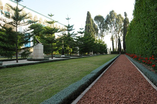 Garden beside Mansion of Bahji