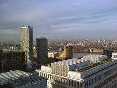 London Skyline from One Canada Square