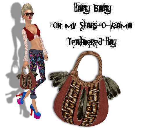 Bang Bang - Oh my Stars-o-Rama - Feathered Bag