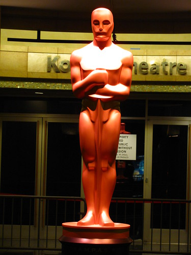 The Oscar in front of the Kodak Theatre